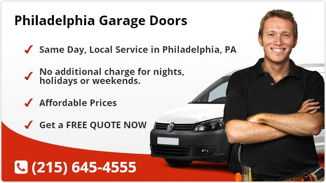 Philadelphia Garage Door Repair